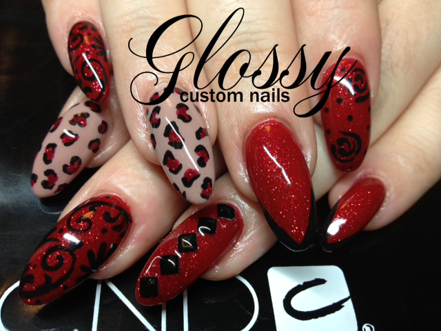 Nail Art Tutorial: Elegant Red Shellac Manicure