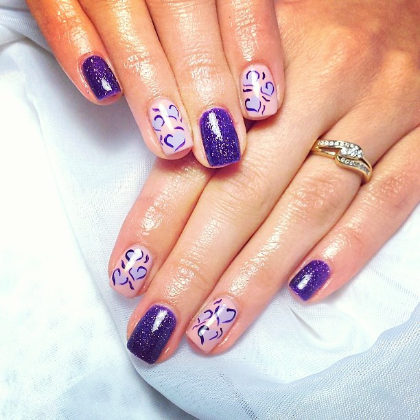 - Purple Nails Nail Art Inspiration NAILPRO