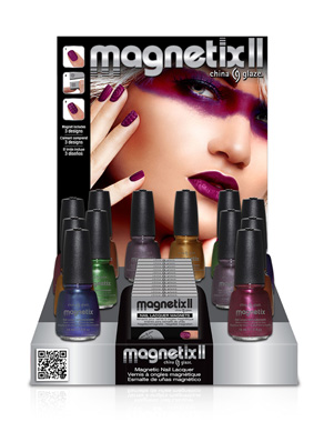 Magnetic Nail Art: Laws of Attraction