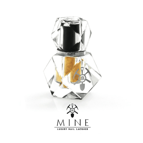 Nail News: MINE Unveils Real Gold Luxury Lacquer
