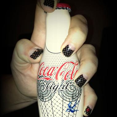 Minx Teams with Coca Cola