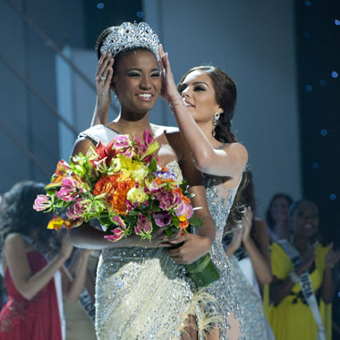OPI, Farouk Play Roles in Crowning of Miss Universe