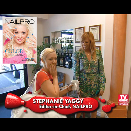 "NAILPRO Guest Stars on ""Nail Files"" on TV Guide Channel"