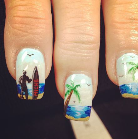 Stunning Summer Nail Art