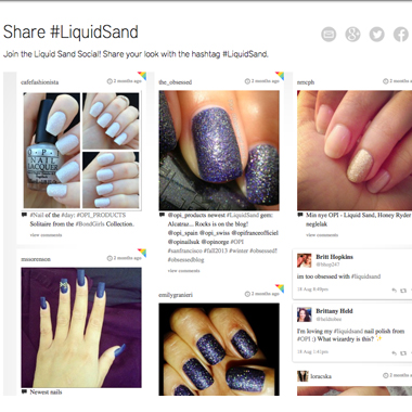 OPI Launches LoveLiquidSand.com, a Microsite Just For Liquid Sand Nail Lacquer