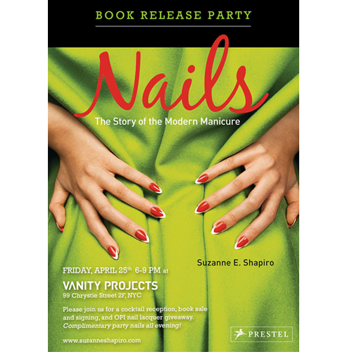 Join Vanity Projects for a Book Signing and Manicure