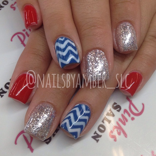 Nail Art: 4th of July Nails