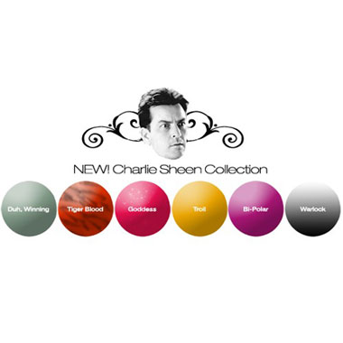 """Get """"Winning"""" Nails with Charlie Sheen"""