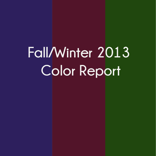 Color Report: Popular Nail Colors for Fall/Winter 2013