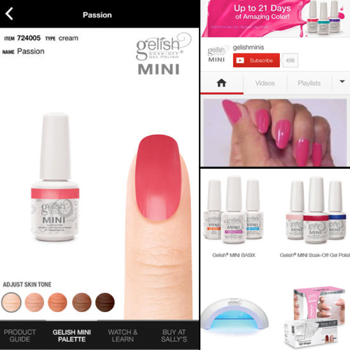 Gelish and Morgan Taylor Launch New Apps