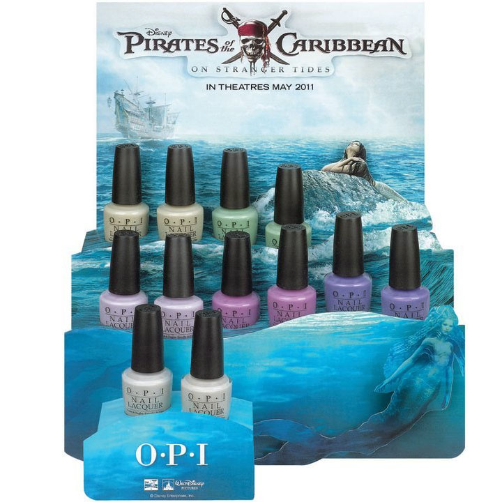 OPI Launches Pirates Collection