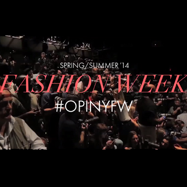 Video: Backstage with OPI at BCBGMAXAZRIA