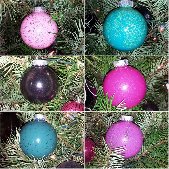 Make Ornaments With Your Favorite Nail Polish