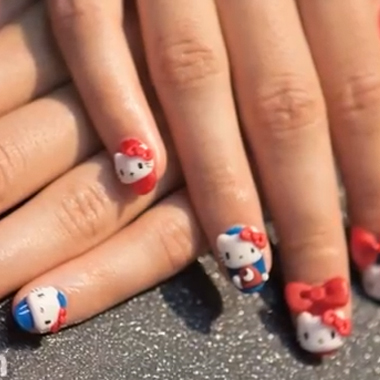Nail Art How To: Purrrfection  (November 2012): Behind the Nail Pros