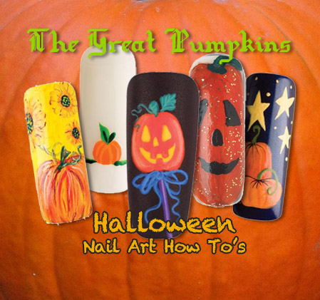 Nail Art How To: The Great Pumpkins