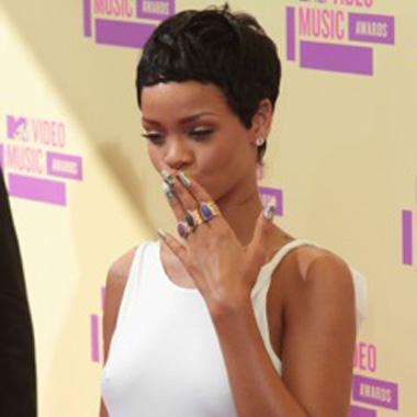 Rihanna Wears Minx to the MTV VMAs