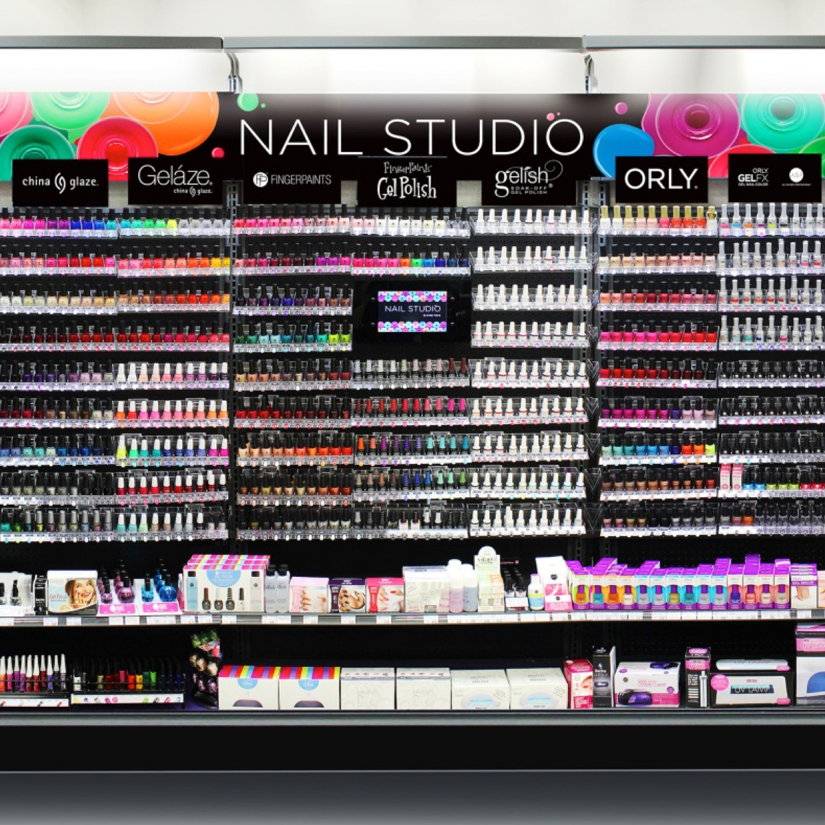 Nail Art Supplies Store: Sally Beauty Supply Launches HUGE Nail Wall And Travelling