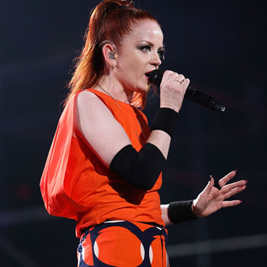 Garbage Singer Shirley Manson Rocks On with Artistic Rock Hard Nails