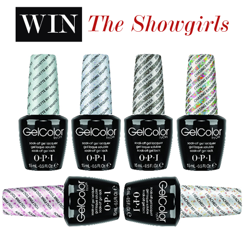 Giveaway: Win OPI GelColor The Showgirls