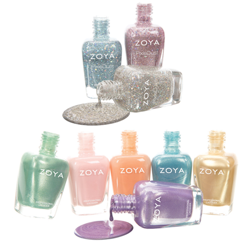 The Breathtaking Pastels Of Zoya Spring 2014