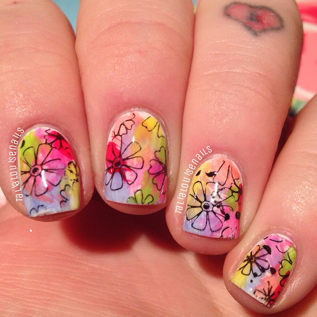 Gallery: Spring Nail Art from Bloggers