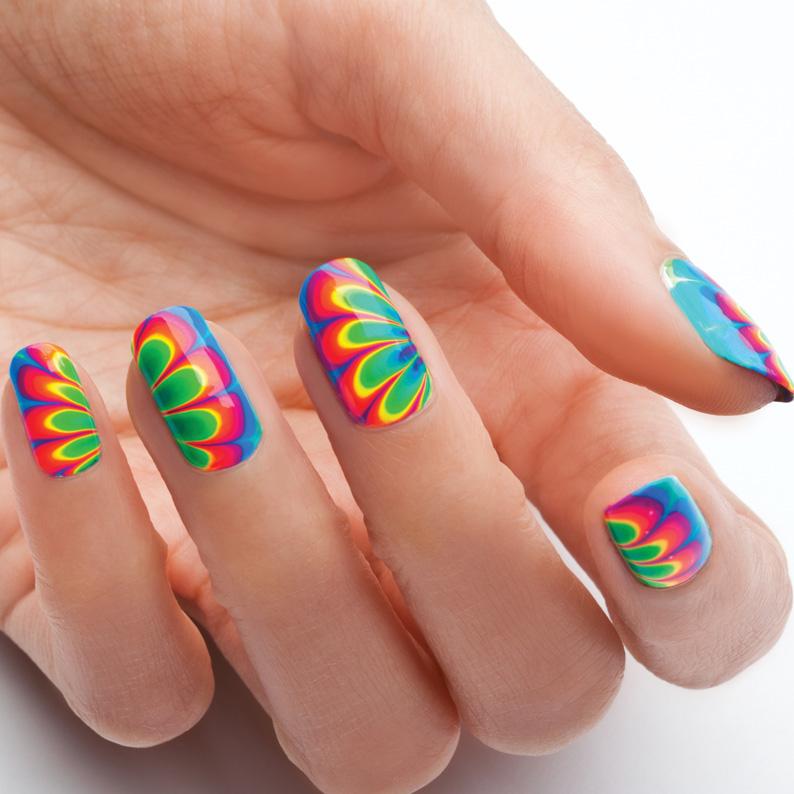 Nail Art Tutorial Water Marbling 101