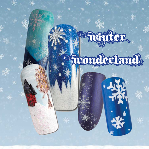Nail Art How To: Winter Wonderland