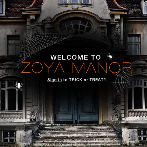 A Halloween Treat From Zoya!