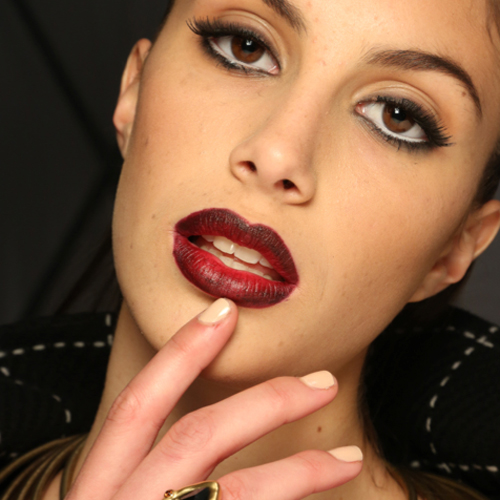Fashion Week: Ombre Lips And Zoya Nails