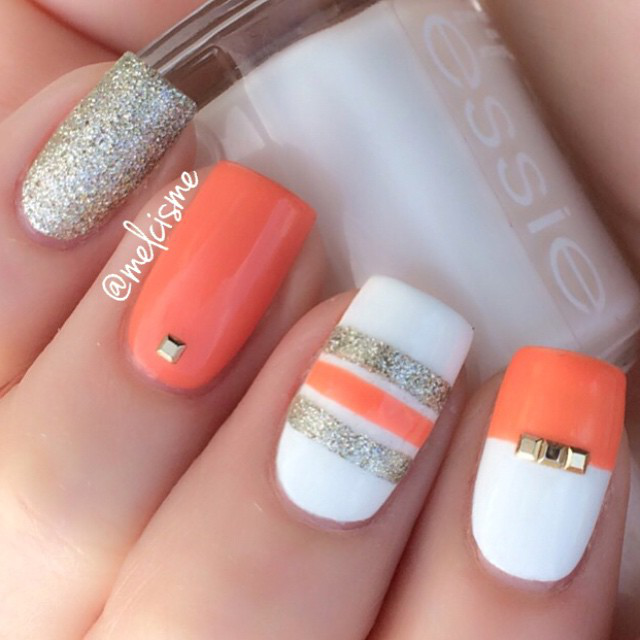 Gallery spring nail art from bloggers prinsesfo Image collections