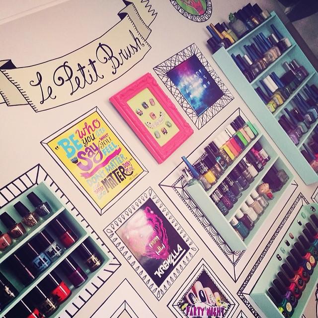 Gallery: Unique Nail Salon Décor