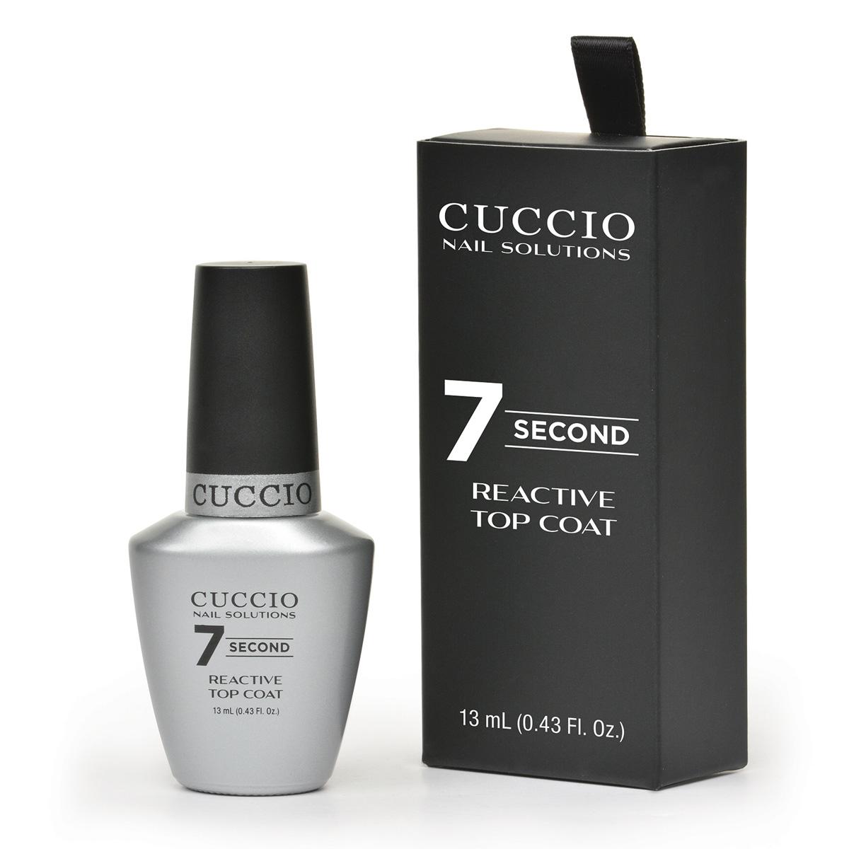 Meet Cuccio\'s New 7-Second Reactive Top Coat - Nailpro