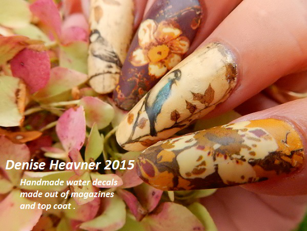 Nail Art Tutorial Make Your Own Nail Decals With Magazines