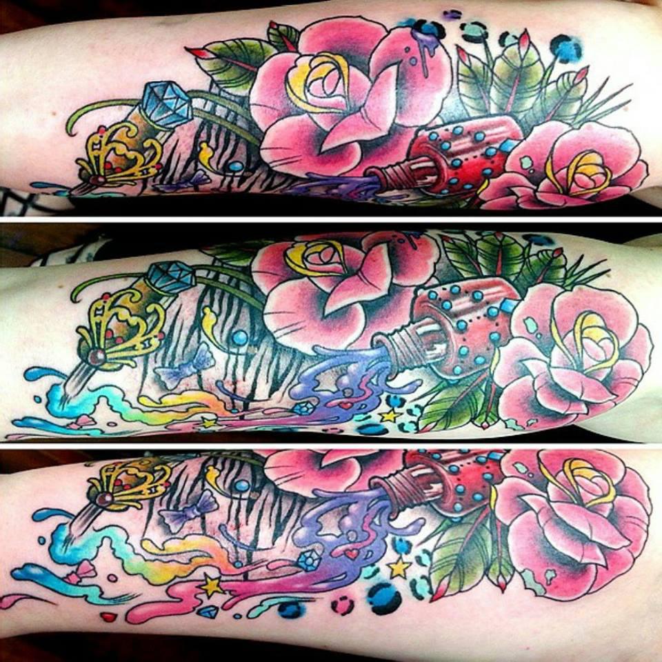 Nail Tech Tattoos