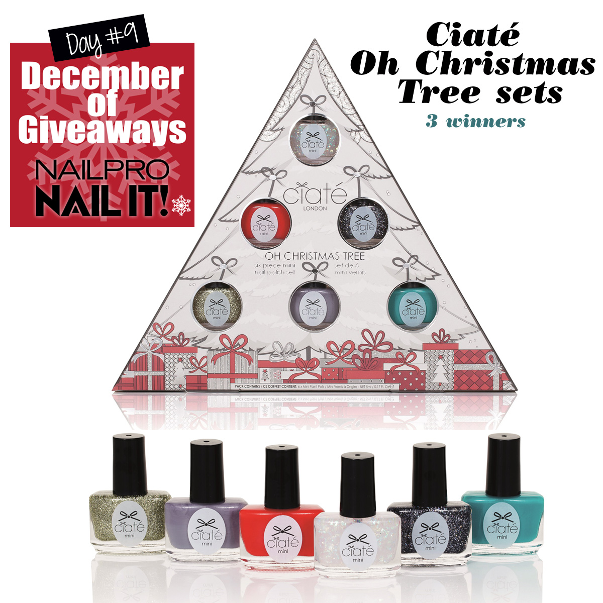Giveaway: Ciaté Oh Christmas Tree