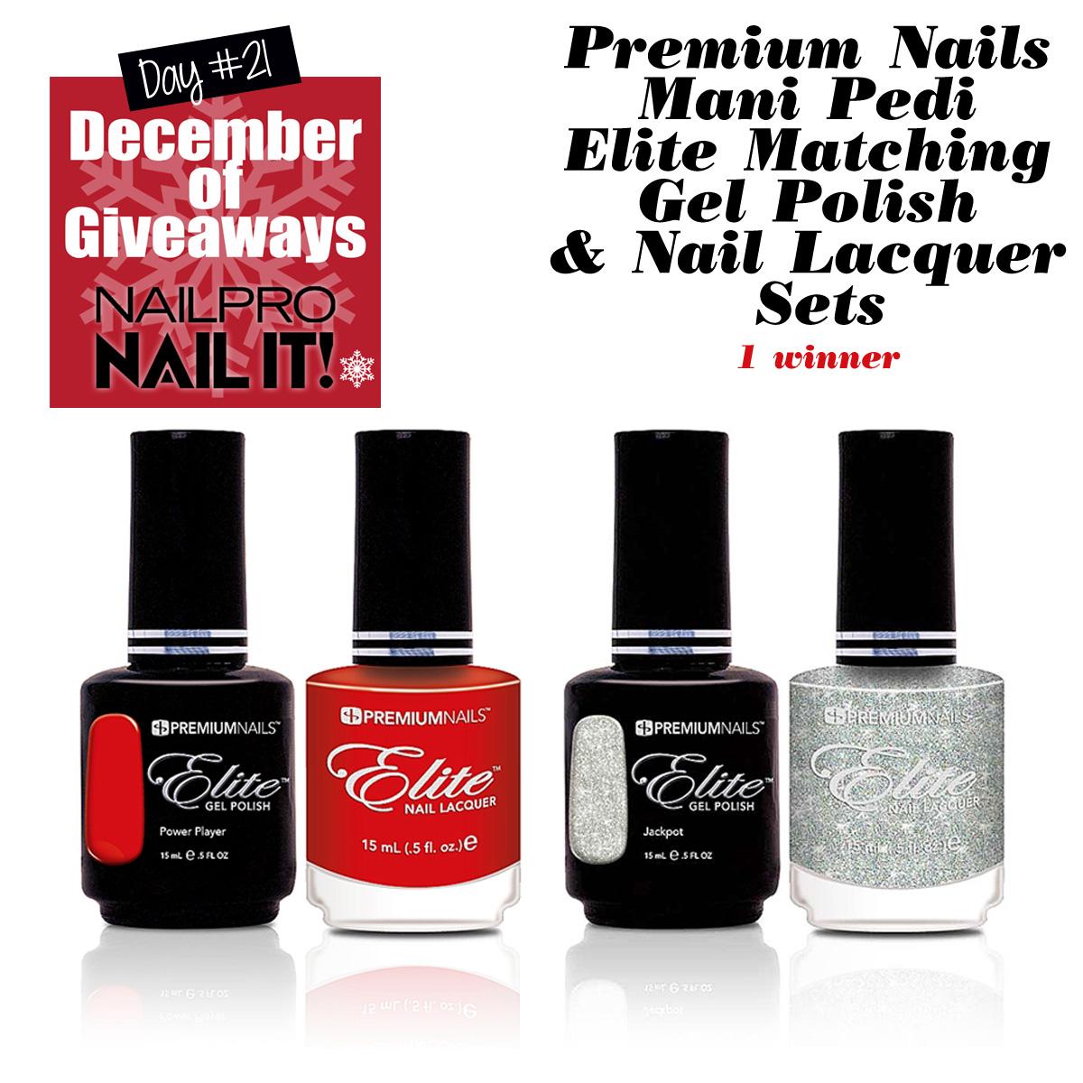 Giveaway: Premium Nails Mani Pedi Sets - Nailpro