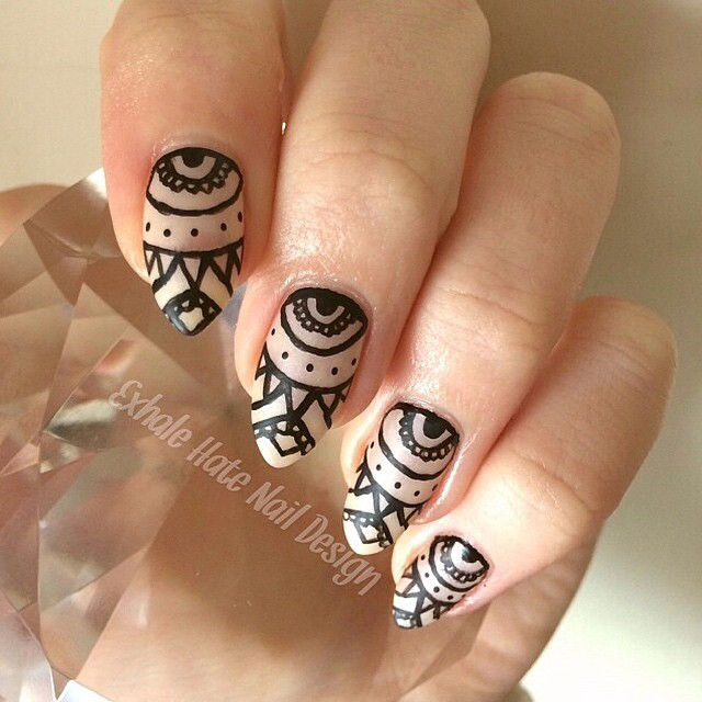 Gallery Negative Space Nails Striped Nails And More