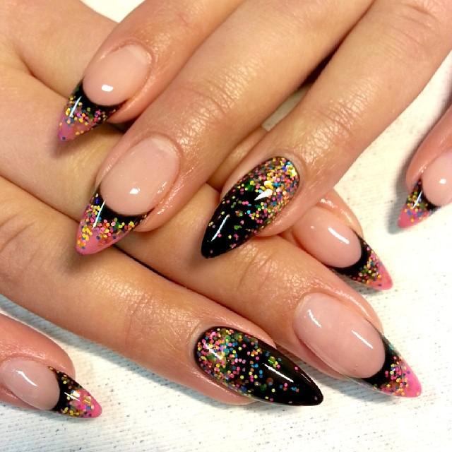 Girls Nail Art New Dizains: Nail Art, Nail Designs, New Year's Eve Nails