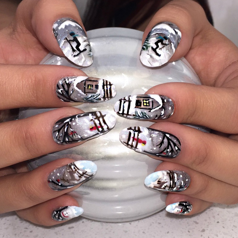 And The Winner Of This Holiday Nail Art Contest Is
