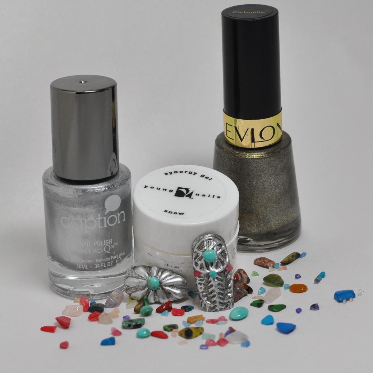 Nail Art Tutorial Turquoise Jewelry
