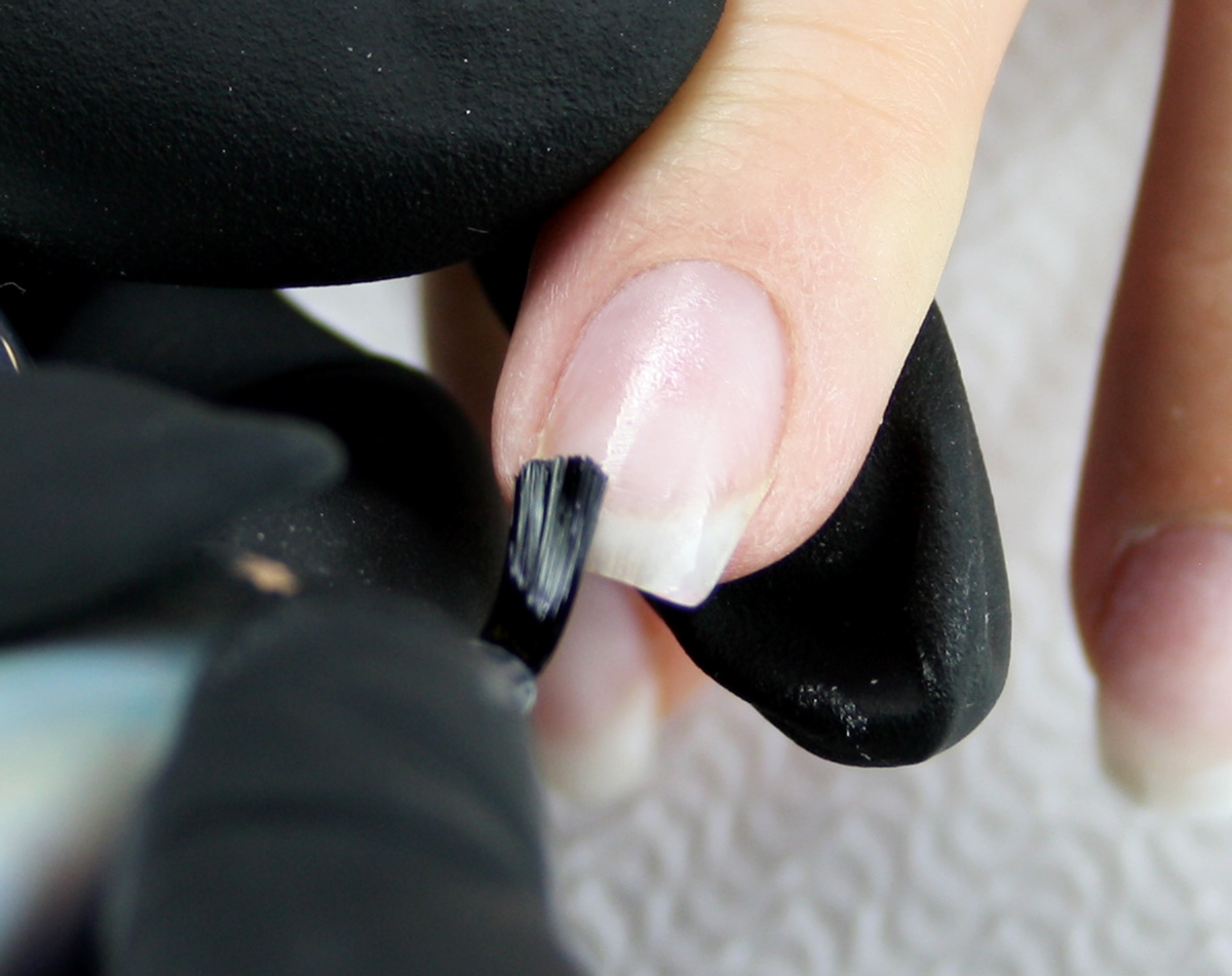 Use The Led Uv Compatible System With Simply Clear Or Fibre Gel To Create Flexible And Durable Natural Nail Overlays