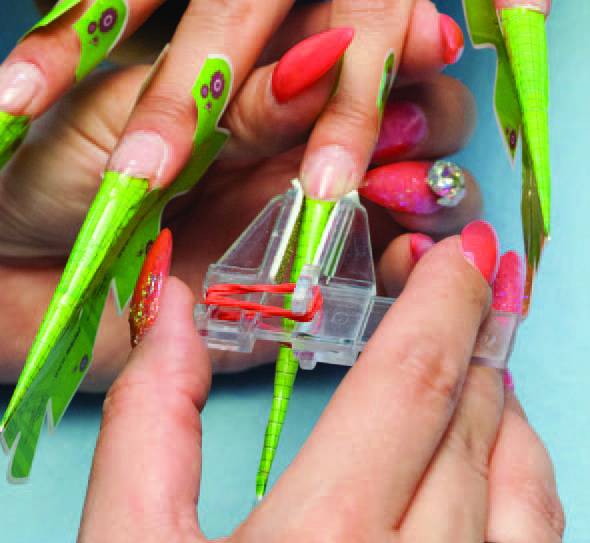 Nail Art Tutorial Spanish Inspired Jewel Manicure