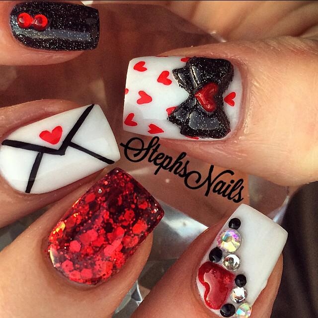 Nail Art Nail Designs Nail Trends Valentines Day Nails