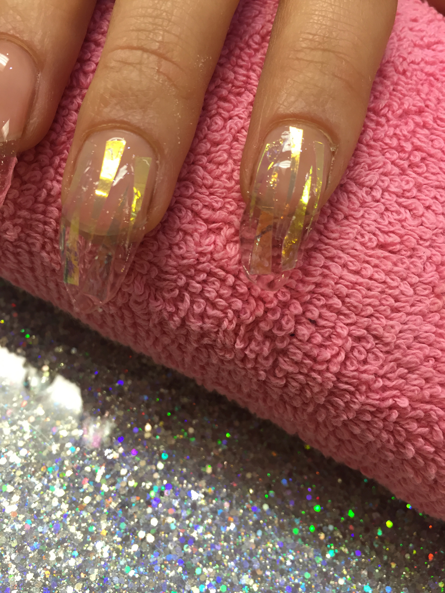 Nail Art How To: Sparkling Glitter Nails - Nailpro