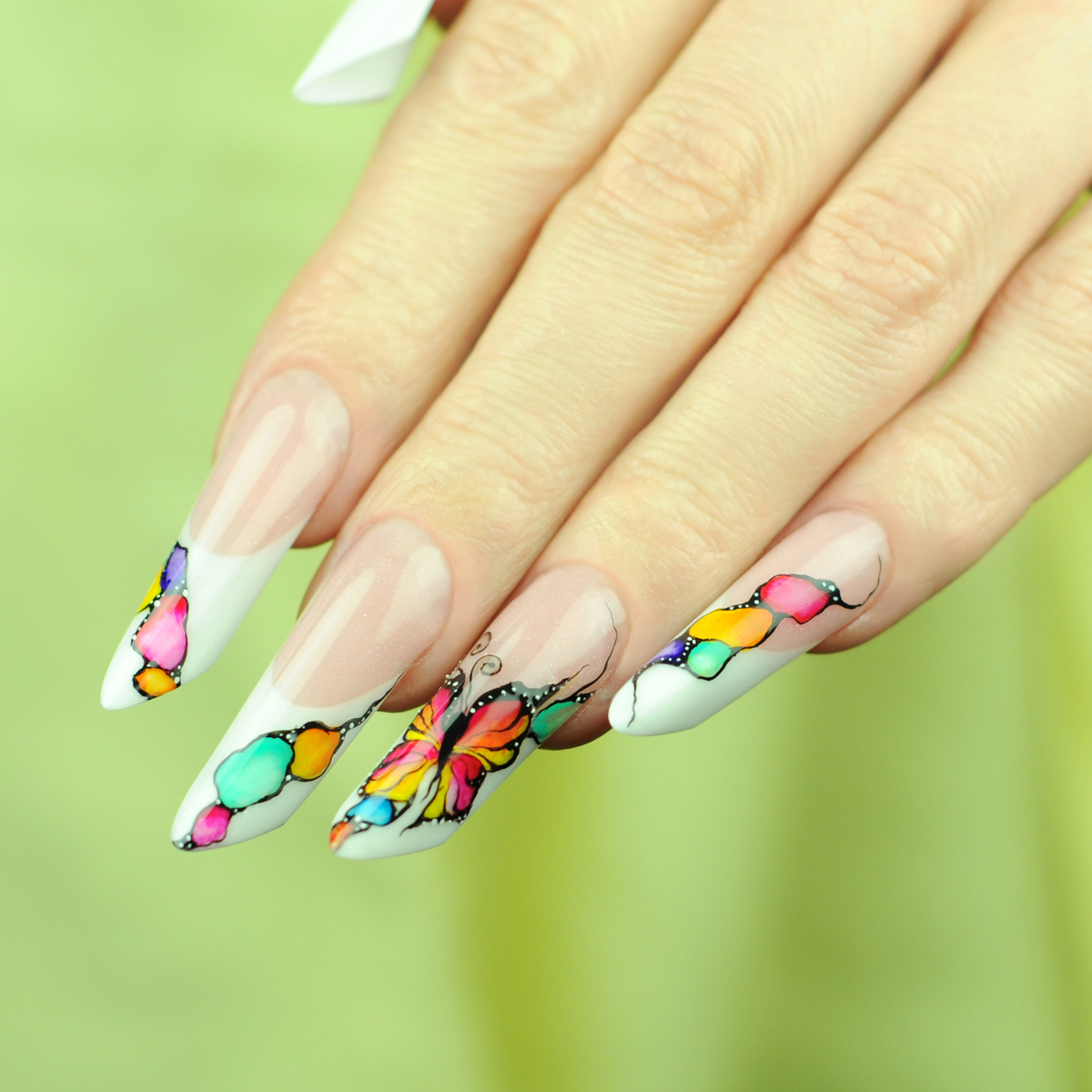 Nail Art Tutorial: Spring Butterfly Nails