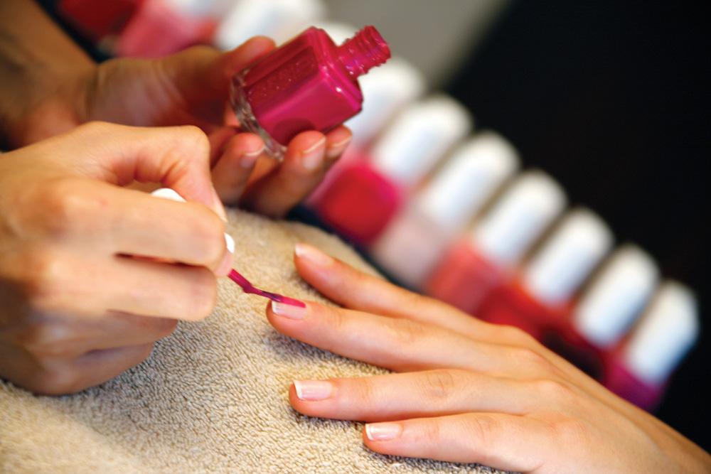 Finger nail polish