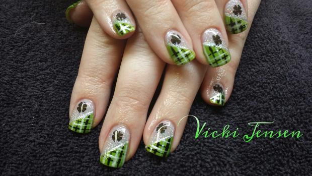 Nail art nail designs st patricks day nails nail art st patricks day nails prinsesfo Images