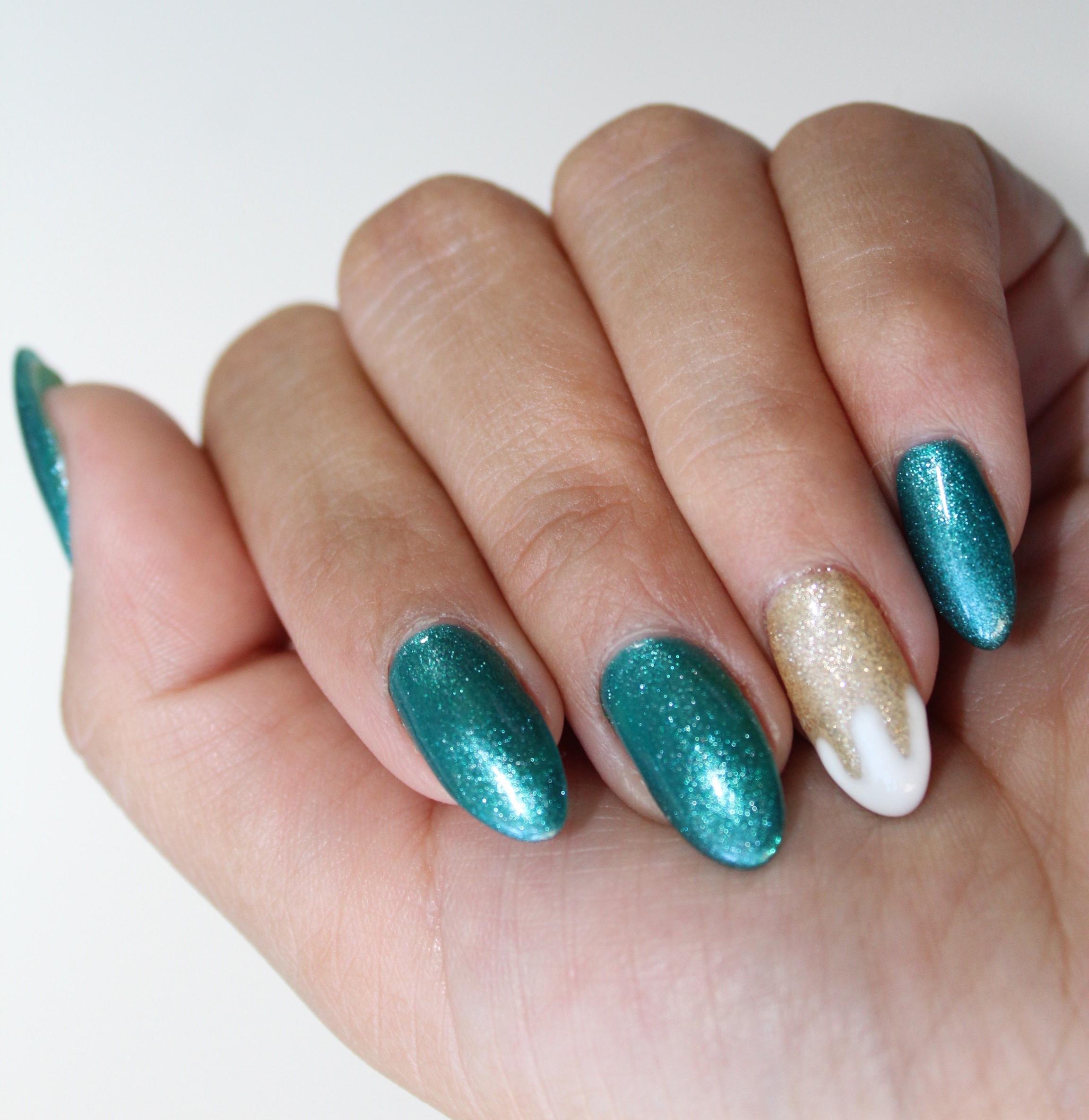 Nail Art Tutorial: Shamrock Nails - Nailpro