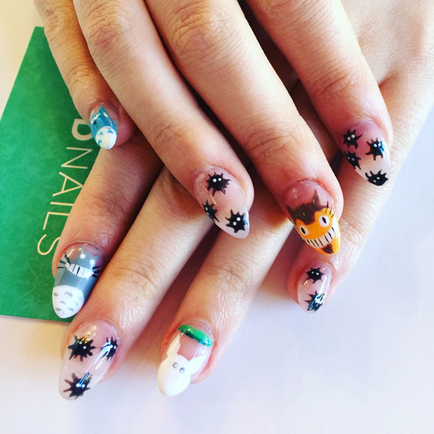 Furry Friends Nail Design for Women by Lucy Chung | Nail Pro Magazine June 2016 Readers Nail Art Submissions, check it out at http://www.nailpro.com/nail-pro-62016-nail-art