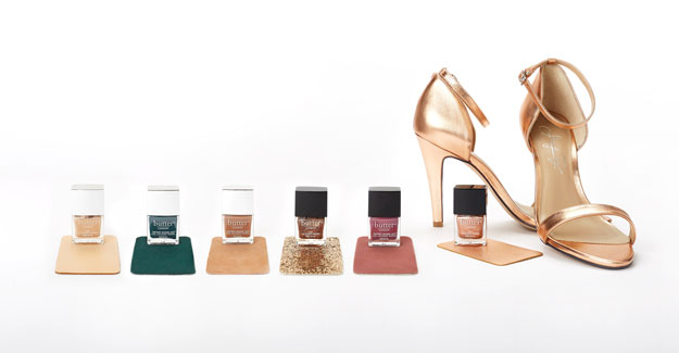 butter London and Shoes of Prey Limited Edition Nail Lacquer Collection, check it out at http://www.nailpro.com/butter-london-shoes-of-prey